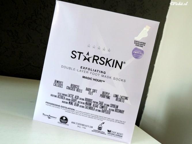 MASK MONDAY | STARSKIN MAGIC HOUR EXFOLIATING FOOT MASK SOCKS