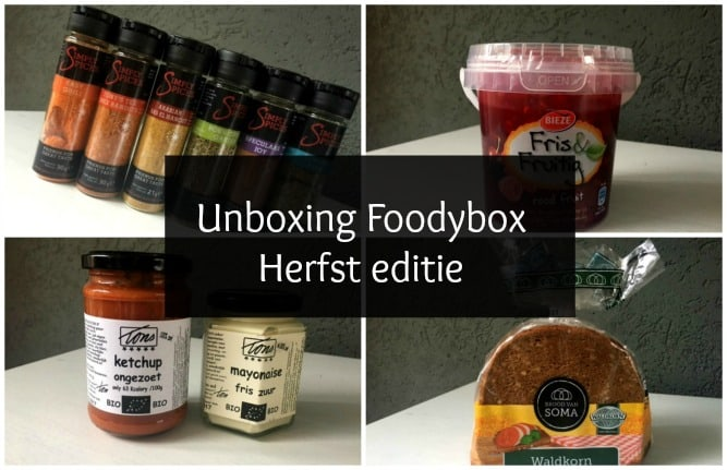 FOOD | UNBOXING FOODYBOX HERFST EDITIE