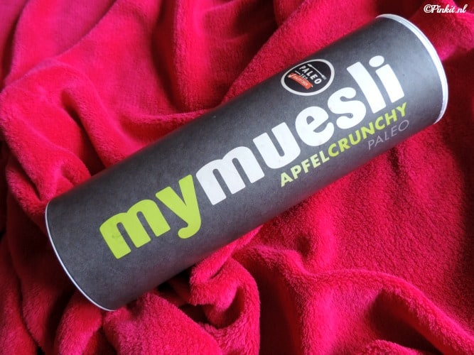 FOOD | MYMUESLI PALEO APPLE CRUNCHY + CODE GRATIS TESTPAKKET