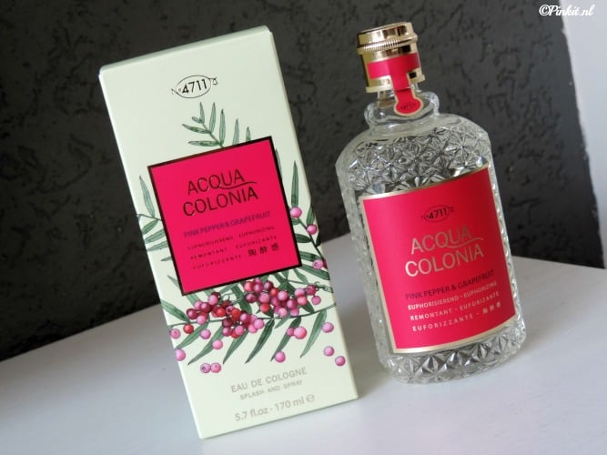 WIN | 3 X 4711 ACQUA COLONIA PINK PEPPER & GRAPEFRUIT GIFTSET