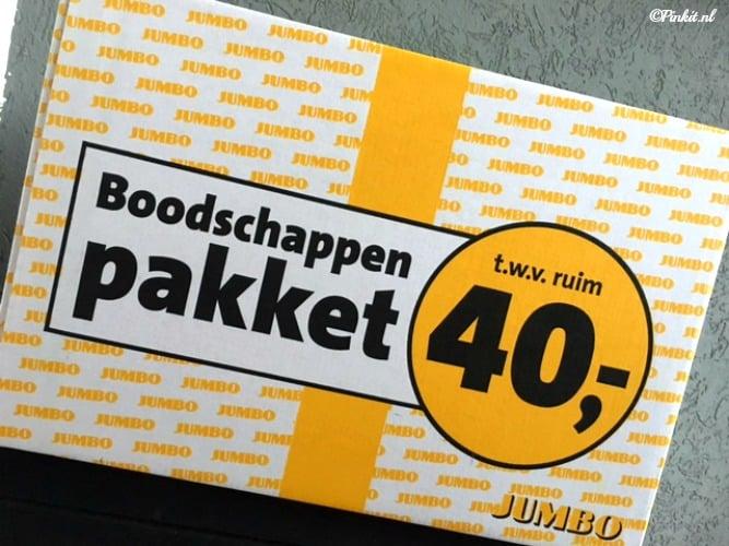FOOD | UNBOXING INHOUD JUMBO BOODSCHAPPENPAKKET T.W.V. €40