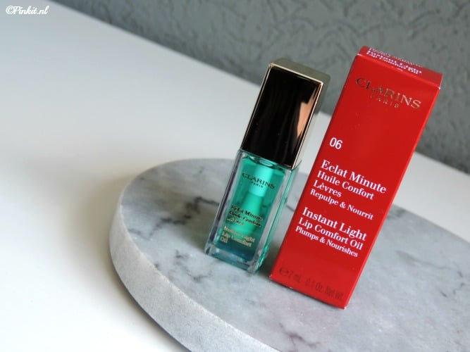 Clarins Instant Light Lip Comfort Oil Mint