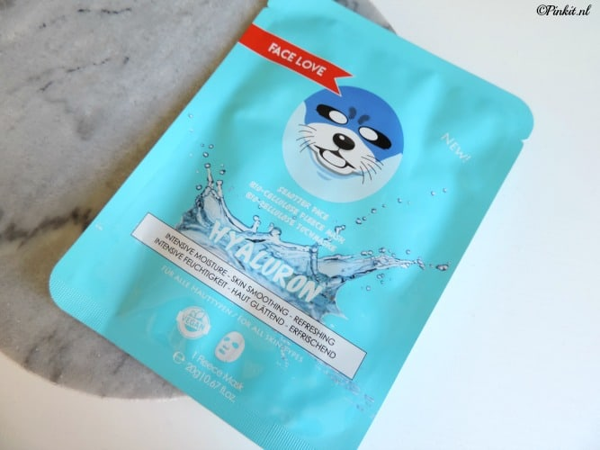 MASK MONDAY | FACE LOVE SEA OTTER FACE SHEET MASK