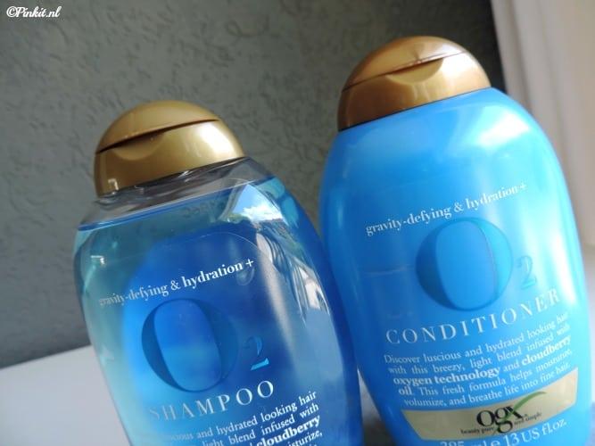 HAIRCARE | OGX GRAVITY-DEFYING & HYDRATION O2 SHAMPOO & CONDITIONER