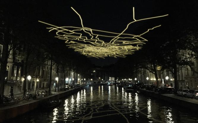 LEUKE UITJES | AMSTERDAM LIGHT FESTIVAL