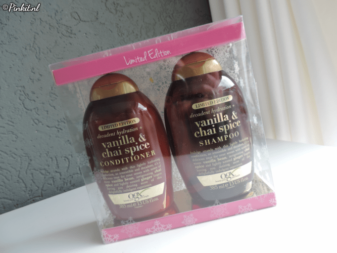HAIRCARE | OGX VANILLA & CHAI SPICE LIMITED EDITION