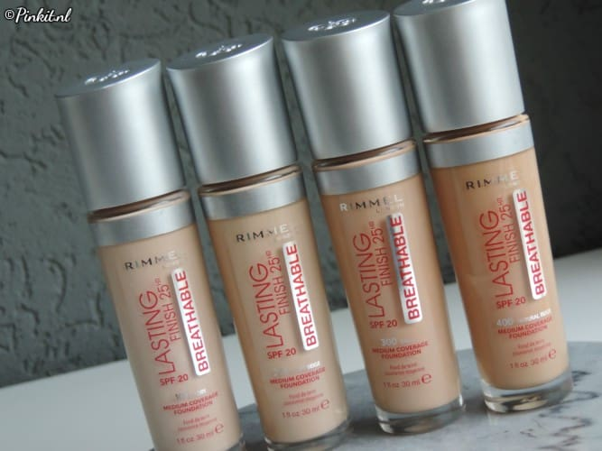 BEAUTY | RIMMEL LONDON LASTING FINISH BREATHABLE FOUNDATION