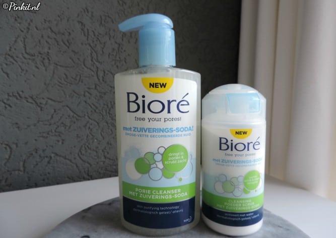 SKINCARE | BIORÉ PORIE CLEANSER & CLEANSING POEDER SCRUB