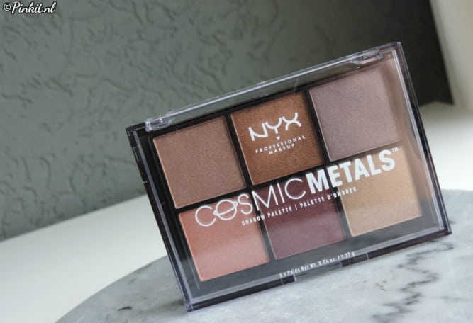 BEAUTY | NYX PROFESSIONAL MAKEUP COSMIC METALS EYESHADOW PALETTE