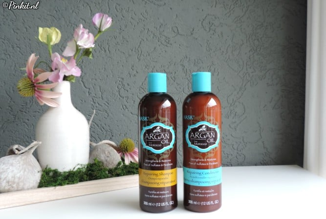 HAIRCARE | HASK ARGAN OIL REPAIRING SHAMPOO & CONDITIONER