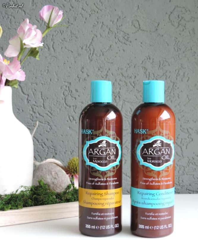 Hask Repairing Shampoo en Conditioner