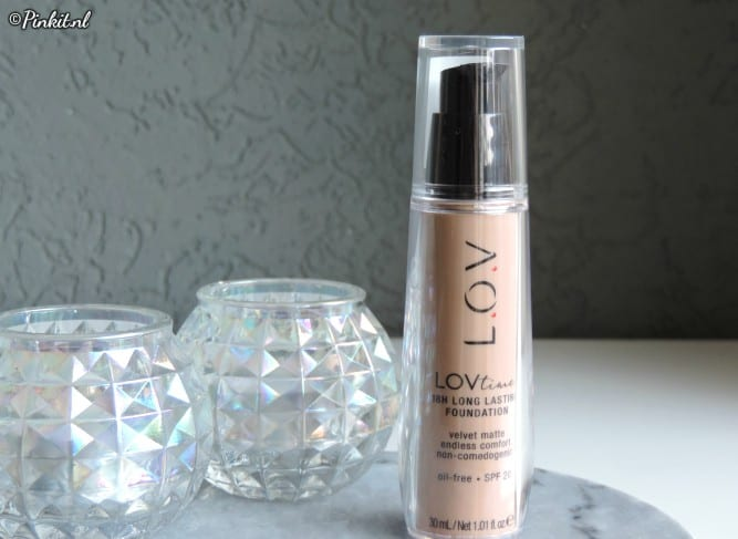 LOVtime 18h Long Lasting Foundation