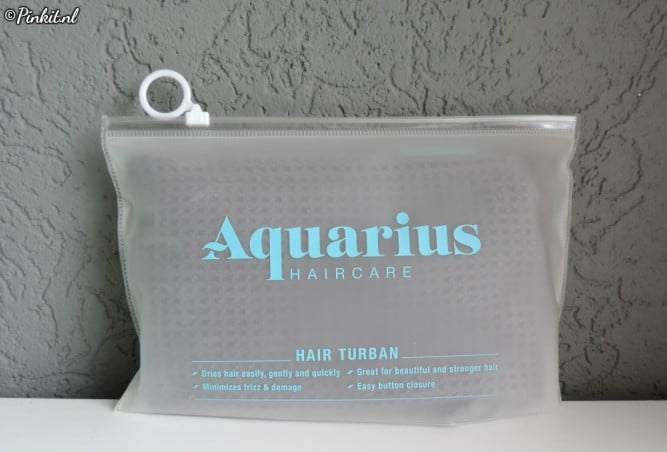 HAIRCARE | AQUARIUS TURBAN DARK GREY
