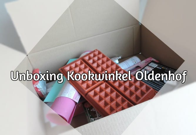 UNBOXING BESTELLING KOOKWINKEL.NL