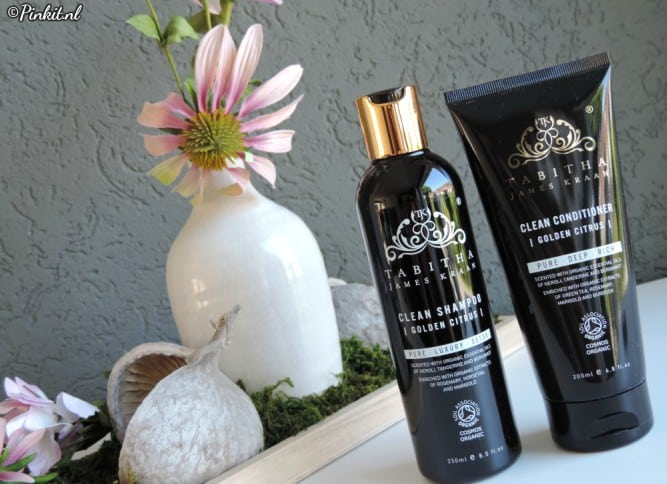 Tabitha James Kraan Clean Golden Citrus Shampoo & Conditioner