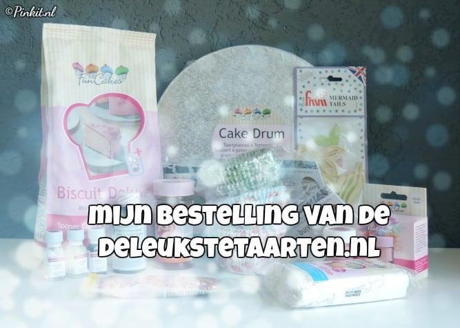 MIJN BESTELLING VAN DELEUKSTETAARTEN.NL