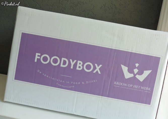Unboxing Foodybox zomer 2018