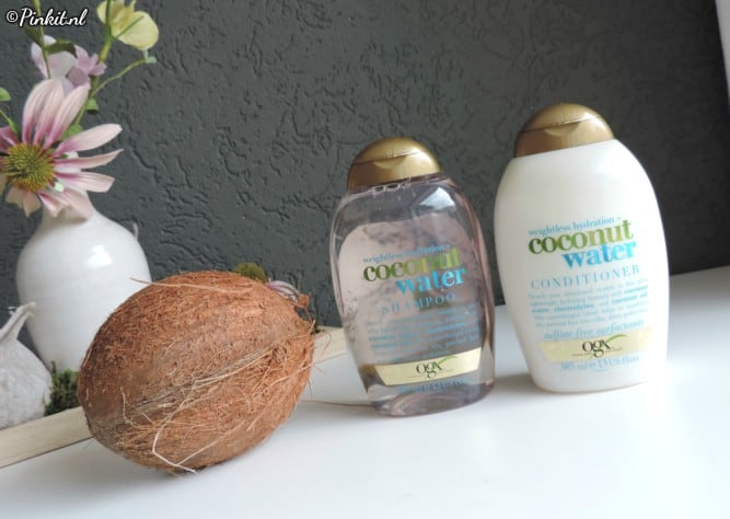 HAIRCARE | OGX WEIGHTLESS HYDRATION COCONUT WATER SHAMPOO & CONDITIONER