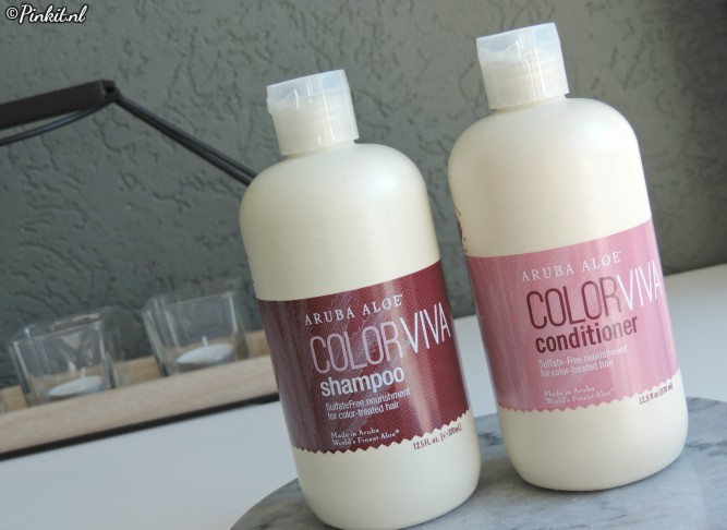 HAIRCARE | ARUBA ALOE COLOR VIVA SHAMPOO & CONDITIONER