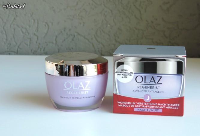 Olaz Regenerist Overnight Miracle Firming Mask