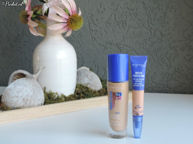 BEAUTY | RIMMEL LONDON MATCH PERFECTION FOUNDATION & CONCEALER
