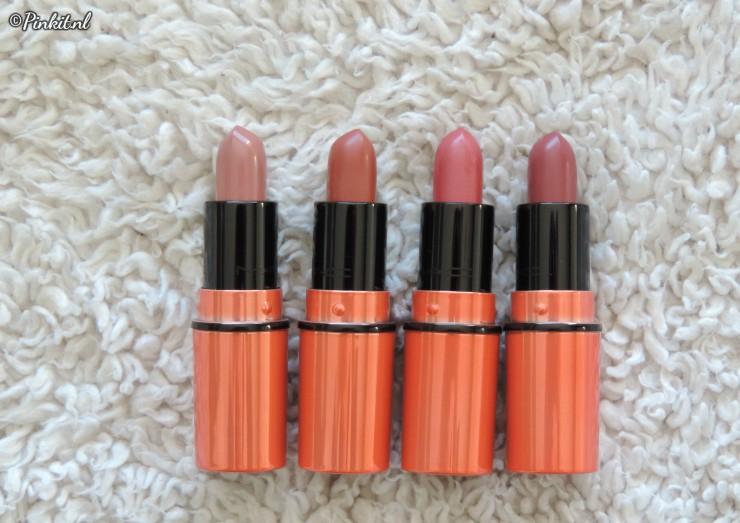 MAC Shiny Pretty Things Nude Mini Lipsticks