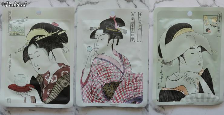 Mitomo UKIYOE Sheet Mask