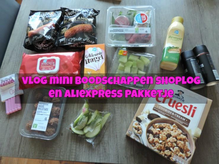 Mini Emté & Boodschappen shoplog #VLOG