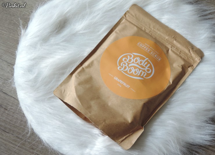 Bodyboom Coffe Scrub Grapefruit