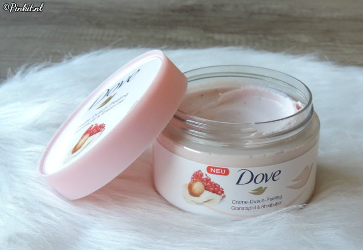 BODY CARE| DOVE EXFOLIATING BODY SCRUB – POMEGRANATE & SHEA BUTTER