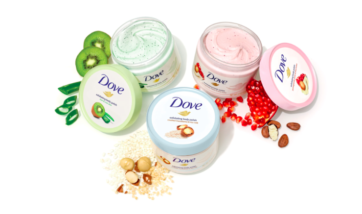 Dove Exfoliating Body Scrub