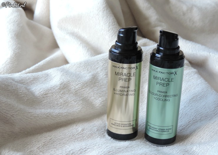 Max Factor MIRACLE PREP Primers & Highlighter