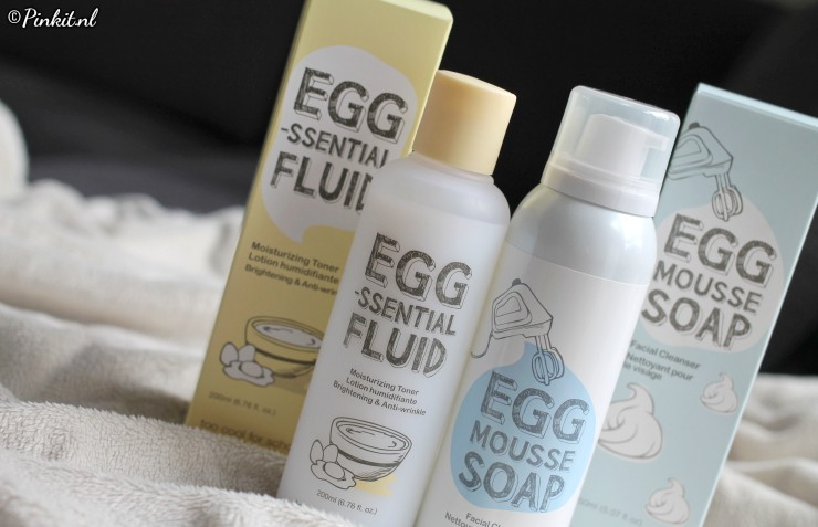 Too Cool For School EGG-Essential Fluid & EGG Mousse Soap