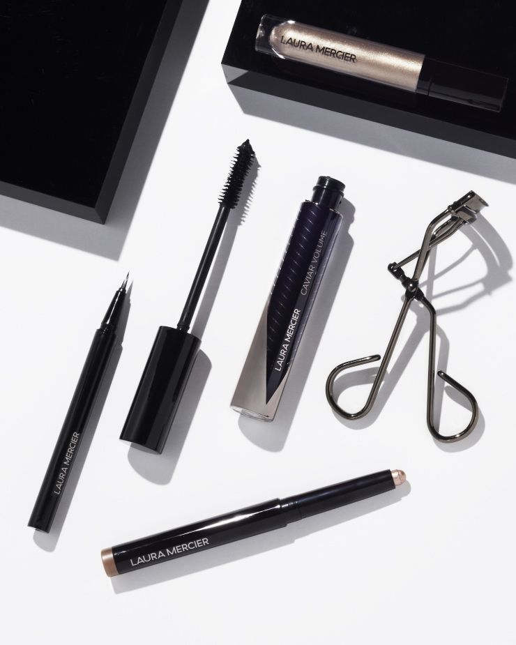 Laura Mercier lanceert Caviar Volume Panoramic Mascara & Liquid Eyeliner