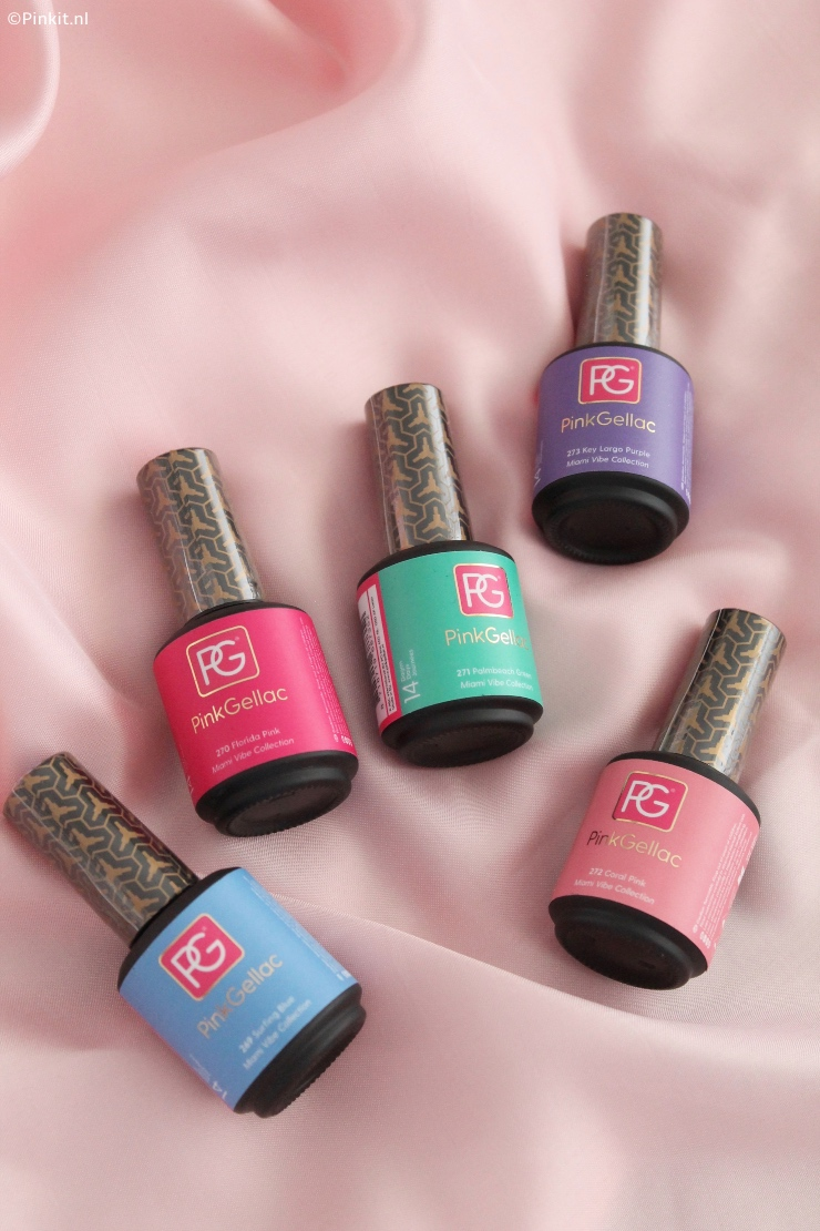 NIEUW | PINK GELLAC MIAMI VIBE COLLECTIE