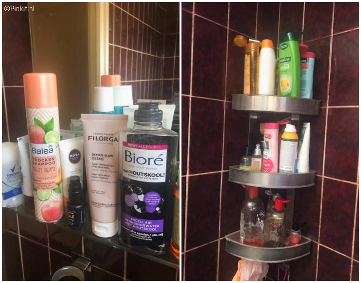 Beauty producten in onze badkamer