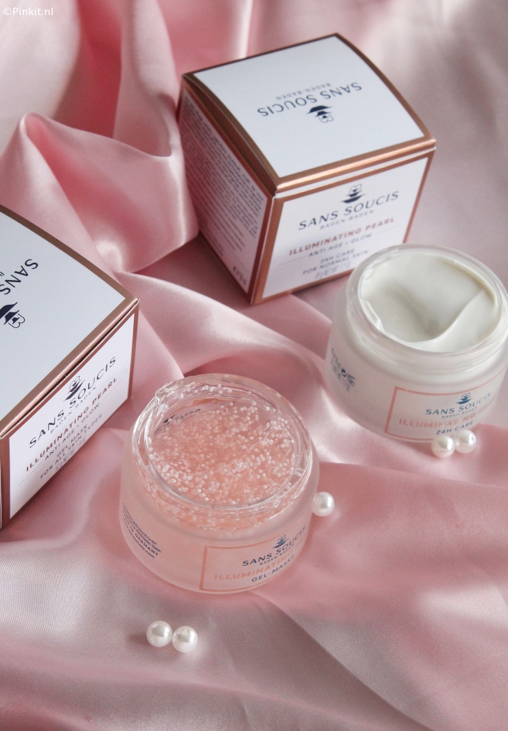 SANS SOUCIS ILLUMINATING PEARL GEL MASK & ILLUMINATING 24H CARE