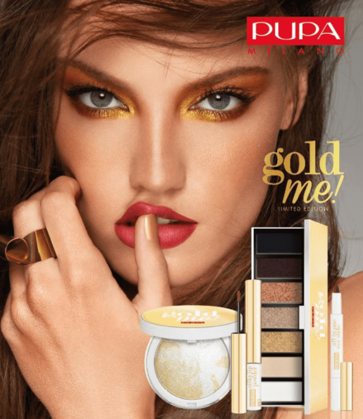 Pupa Milano Gold Me! Christmas Collection 2019