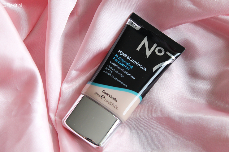 NO7 HYDRALUMINOUS MOISTURISING FOUNDATION