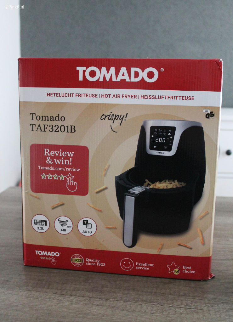 TOMADO HETELUCHT FRITEUSE TAF3201B REVIEW