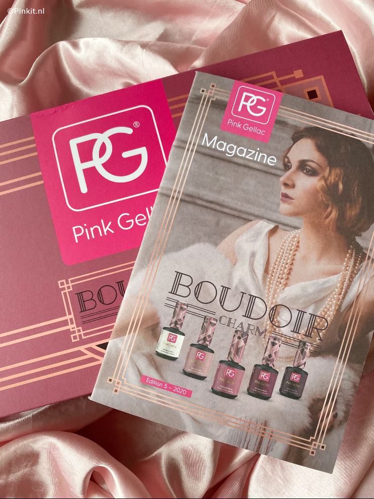 PINK GELLAC BOUDOIR CHARM COLLECTIE SWATCHES