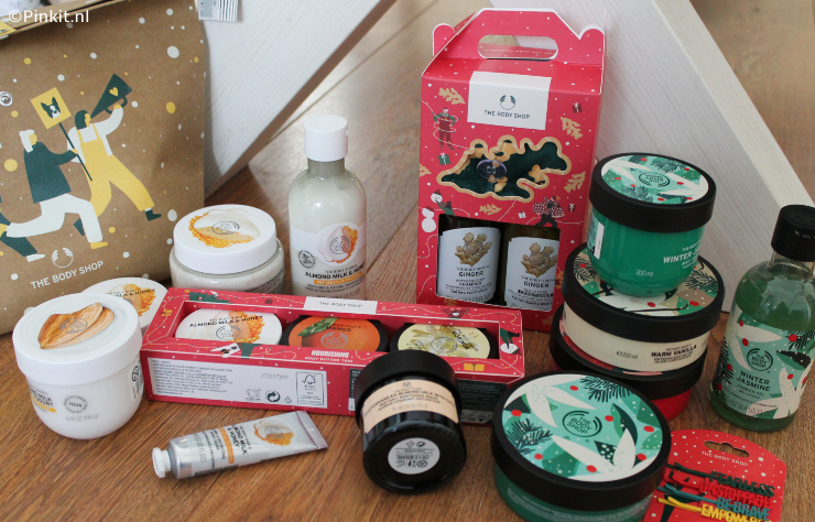 THE BODY SHOP KERSTCOLLECTIE 2020 + WIN