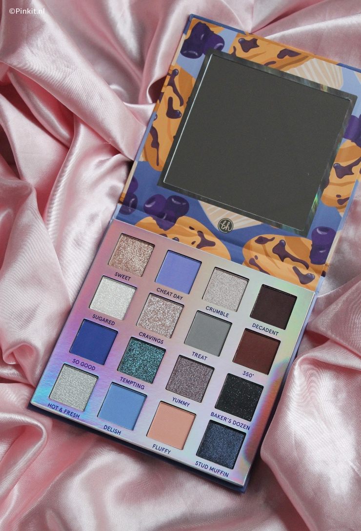 BH COSMETICS WEEKEND VIBES BLUEBERRY MUFFIN + WIN