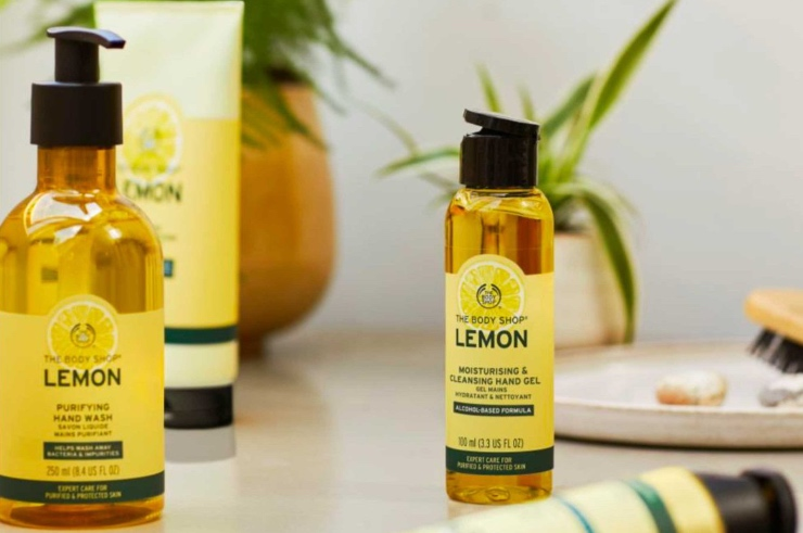 NIEUW | THE BODY SHOP LEMON LIJN