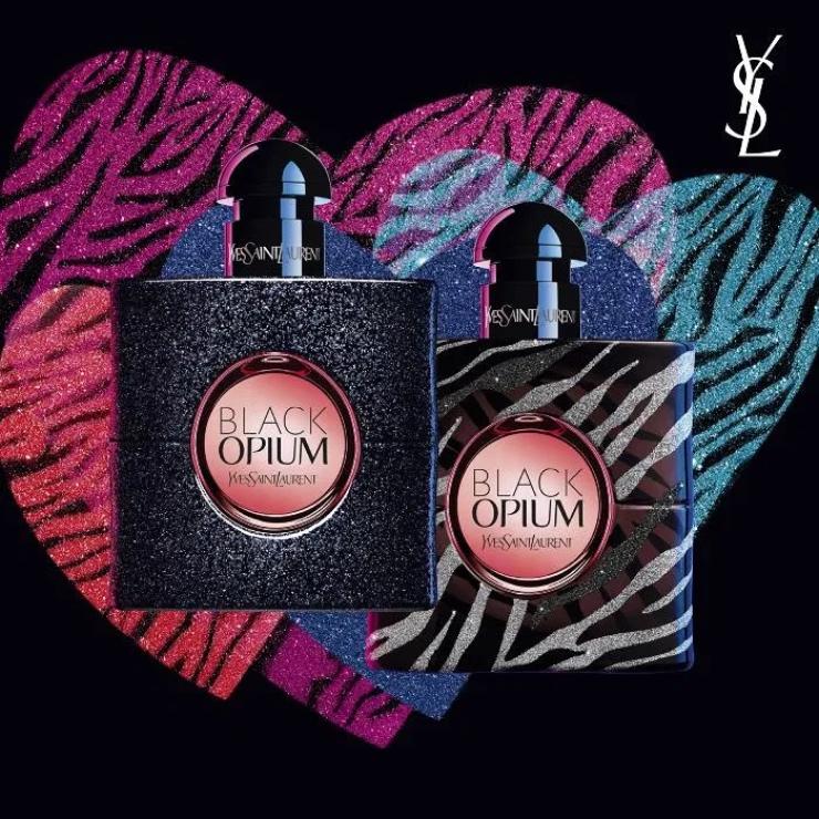 NIEUW YVES SAINT LAURENT BLACK OPIUM LOVE AT FIRST SPRAY