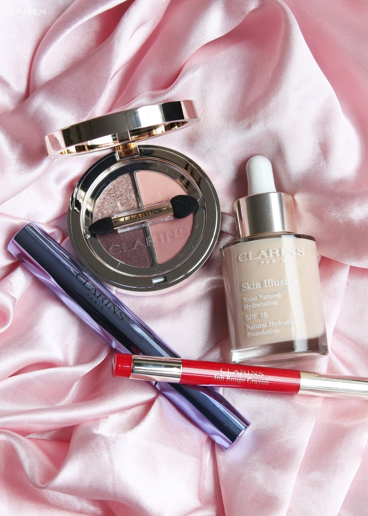 In The Mix Clarins make-up