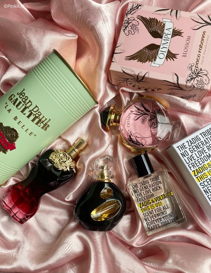 Vier nieuwe parfum lanceringen