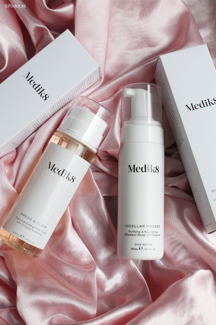 Medik8 Press & Glow en met de Micellar Mousse