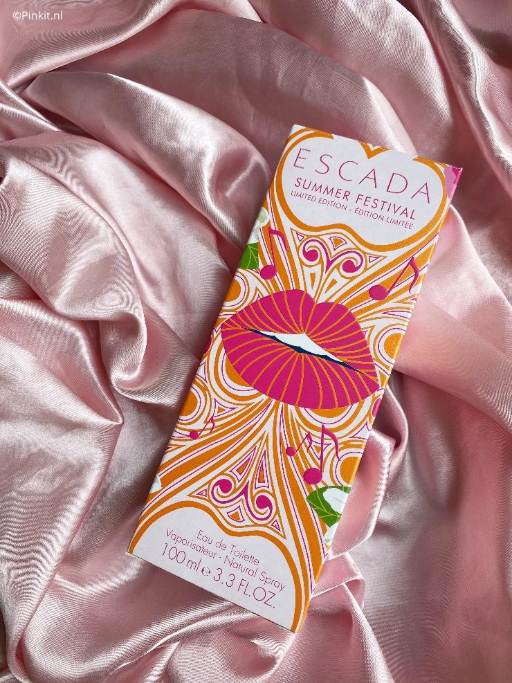 Elk jaar lanceert ESCADA weer een nieuwe limited edition, in dit artikel vertel ik wat meer over de nieuwste lancering ESCADA Summer Festival!