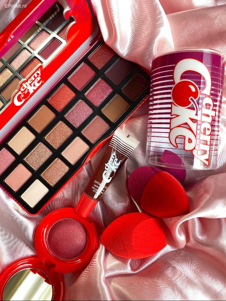 Coca-Cola X Morphe Cherry Coke Collection